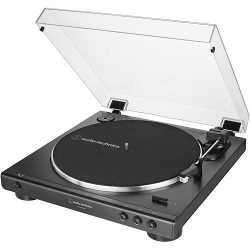 Audio-Technica Consumer AT-LP60XUSB Stereo Turntable (Black)