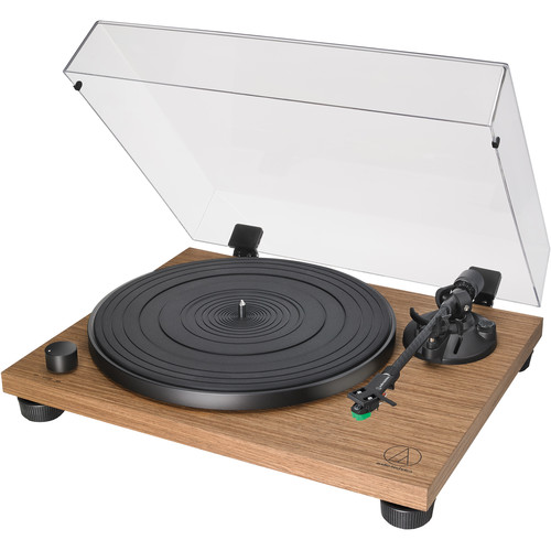 Audio-Technica Consumer AT-LPW40WN Stereo Turntable (Walnut)