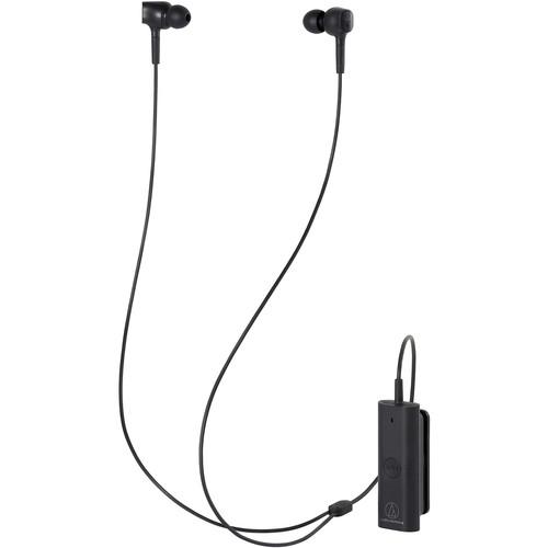 Audio-Technica Consumer ATH-ANC100BT QuietPoint Wireless In-Ear Noise-Canceling Headphones