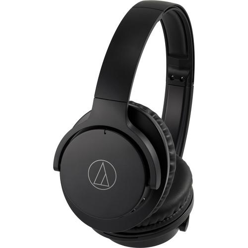 Audio-Technica Consumer ATH-ANC500BT QuietPoint Wireless Over-Ear Noise-Canceling Headphones (Black)