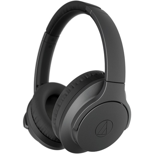 Audio-Technica Consumer ATH-ANC700BT QuietPoint Active Noise-Canceling Headphones (Black)