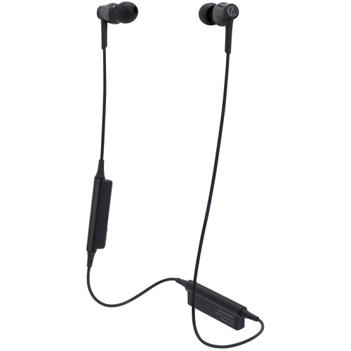 Audio-Technica Consumer ATH-CKR35BT Sound Reality Wireless In-Ear Headphones (Black)