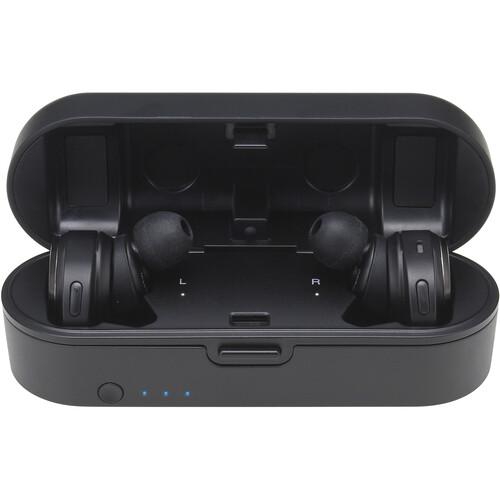 Audio-Technica Consumer ATH-CKR7TW True Wireless In-Ear Headphones (Black)