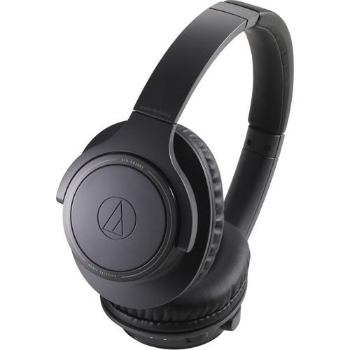 Audio-Technica Consumer ATH-SR30BT Wireless Over-Ear Headphones (Black)