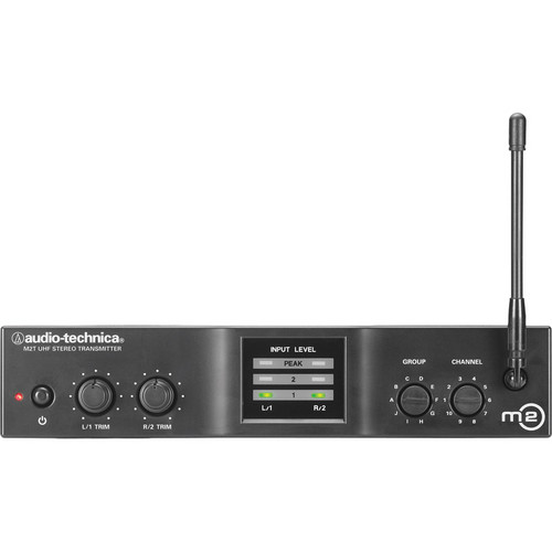 Audio-Technica M2T Stereo Transmitter (L Frequency Band, 575 to 600 MHz)