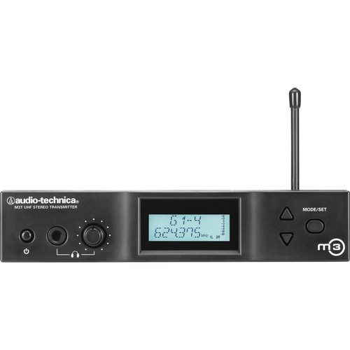 Audio-Technica M3T Stereo Transmitter (L- 575 to 608 MHz)