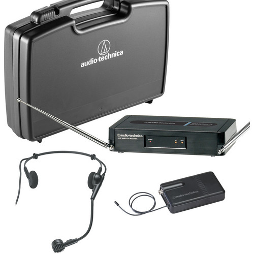Audio-Technica Pro Series 3 VHF Wireless System with Hypercardioid Dynamic Headworn Microphone (T2- 169.505 MHz)