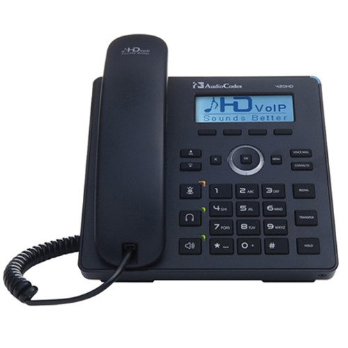 AudioCodes UC420HDE Lync-Compatible IP Phone (Unified Communications Compatible)