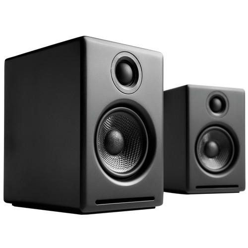 "Audioengine A2+ 2.75"" Powered Desktop Speakers (Black)"