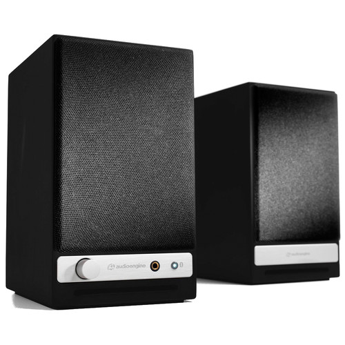 Audioengine HD3 2-Way Wireless Bookshelf Speakers (Pair, Satin Black)