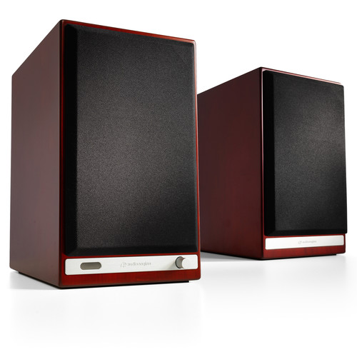 Audioengine HD6 Powered Speakers (Pair, Cherry)