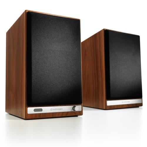 Audioengine HD6 Bluetooth Speaker System (Walnut, Pair)