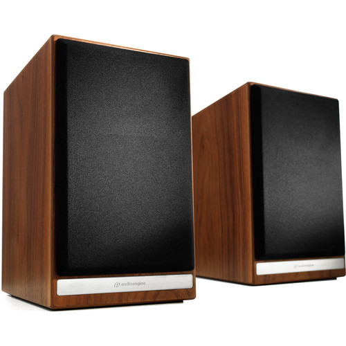 Audioengine HDP6 2-Way Bookshelf Speakers (Pair, Walnut)