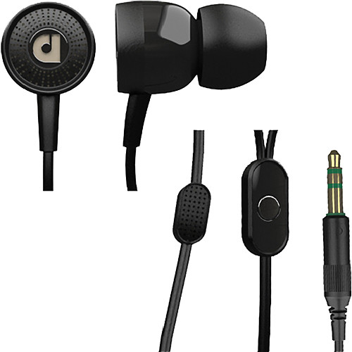 Audiofly AF45 In-Ear Headphones with Clear-Talk Mic (Stout Black)