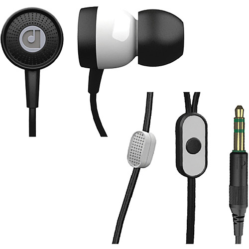 Audiofly AF45 In-Ear Headphones with Clear-Talk Mic (White Knight)
