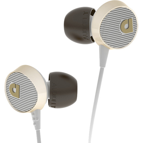 Audiofly AF56 In-Ear Headphones (Vintage White)