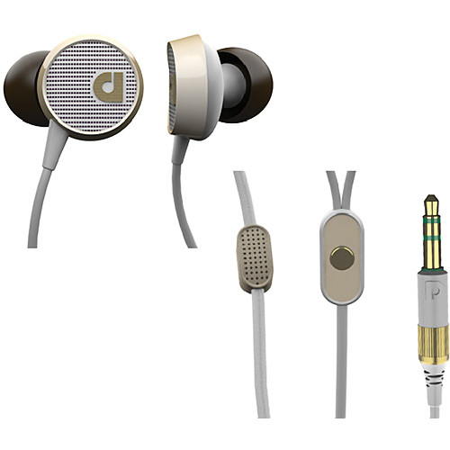 Audiofly AF56 In-Ear Headphones with Clear-Talk Mic (Vintage White)