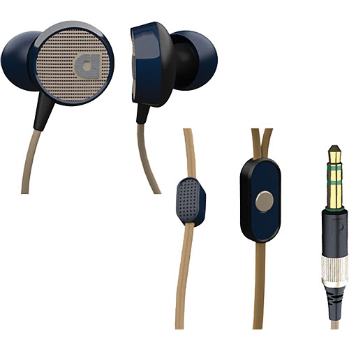 Audiofly AF56 In-Ear Headphones with Clear-Talk Mic (Blue Tweed)