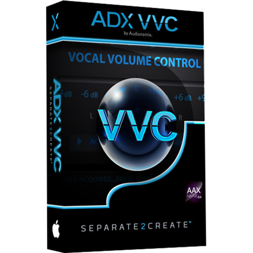 AUDIONAMIX ADX VVC 3 - Vocal Volume Control Plug-In (Download)