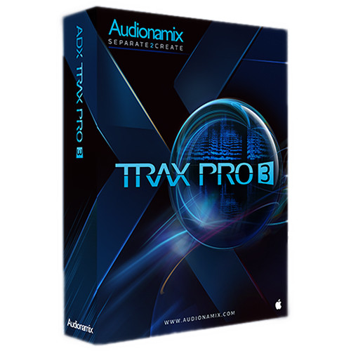 AUDIONAMIX TRAX 3 SP Pro - Automated Speech Separation Software for Audio and Post Production (Educational Edition, Download)