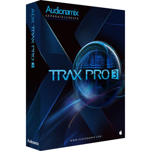 AUDIONAMIX ADX TRAX PRO 3 - Non-Destructive Audio Source Separation Software (Educational, Download)