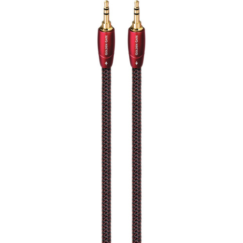 AudioQuest Golden Gate 3.5mm to 3.5mm Audio Interconnect Cable (4.9')