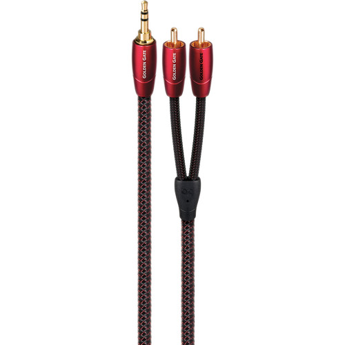 AudioQuest Golden Gate 3.5mm to RCA Cable (4.9')