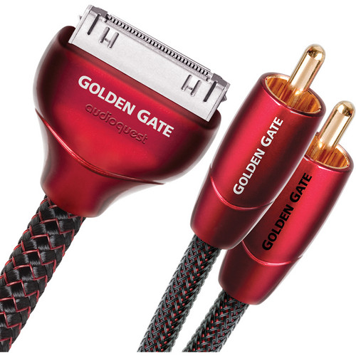 AudioQuest 3.3' Golden Gate 30-Pin iPod to RCA Cable