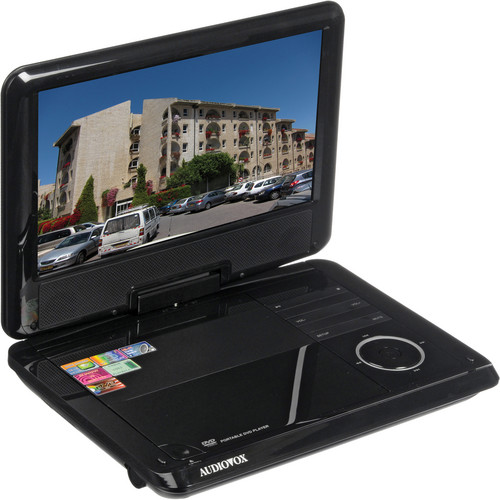 "Audiovox DS-9321 9"" Swivel Screen Portable DVD Player"