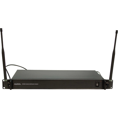 Audix Antenna Distribution System for Up to Four AP42/AP62 Two-Channel Microphone Systems