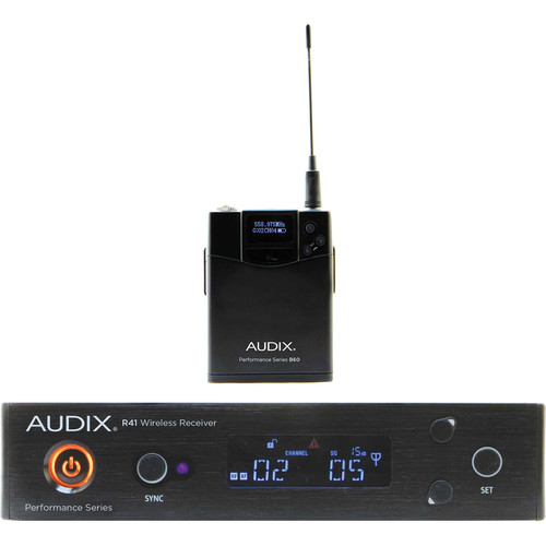 Audix AP41 Performance Series Single-Channel Bodypack Wireless System (522 to 554 MHz)