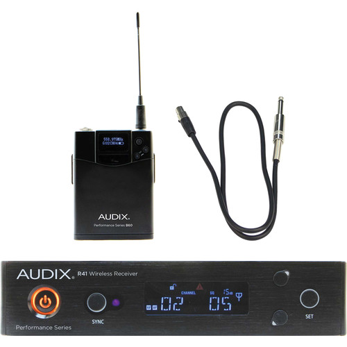 Audix AP41 Performance Series Single-Channel Guitar Wireless System (554 to 586 MHz)