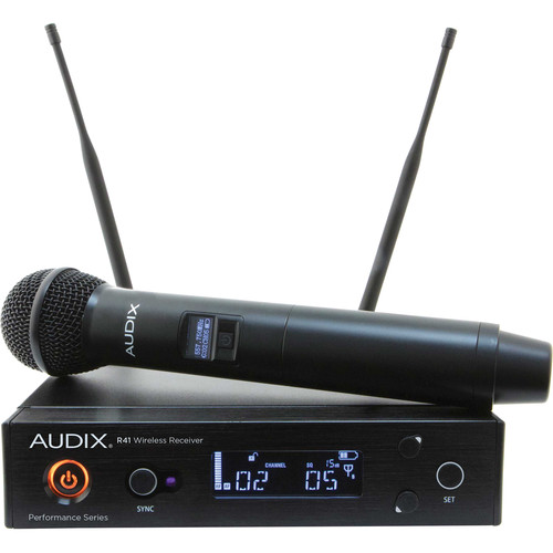 Audix AP41 Performance Series Single-Channel Wireless System with H60/OM5 Handheld Transmitter (522 to 554 MHz)