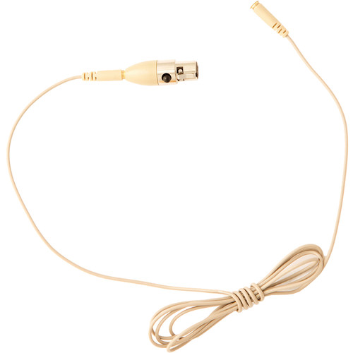 Audix CBLHT7BG Replacement Cable for HT7 Headworn Microphone (4', Beige)