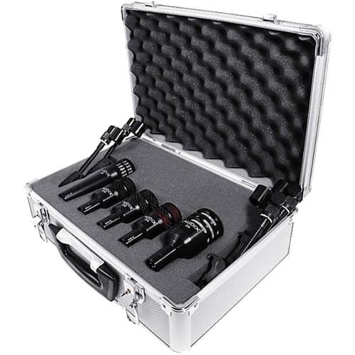 Audix Five Drum Microphone & Cable Kit