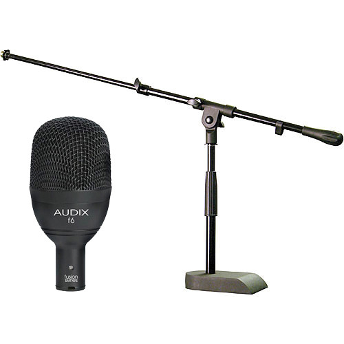 Audix F6 Fusion Series Kick Drum Mic and Stand Kit
