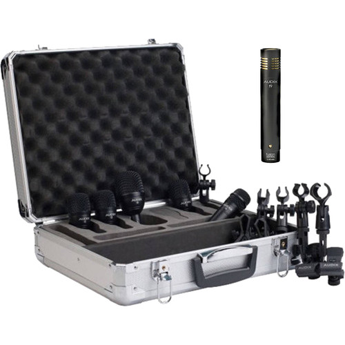 Audix FP5-Plus Pack with F9 Condenser Microphone