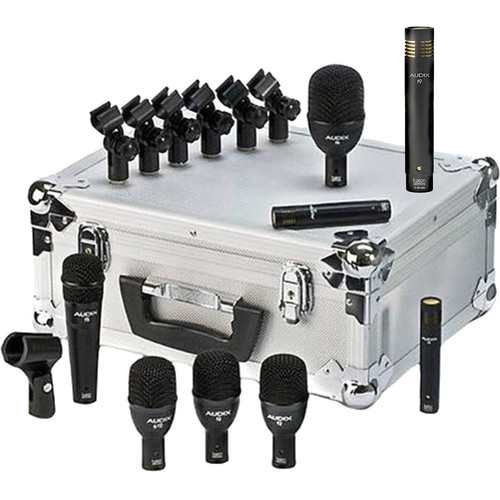 Audix FP7-Plus Pack with Additional F9 Condenser Microphone