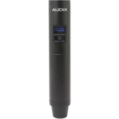 Audix H60 Handheld Transmitter without Capsule (522 to 586 MHz)