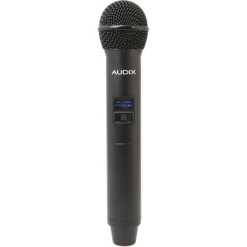 Audix H60 OM2 64 MHz Handheld Microphone Transmitter with OM2 Hypercardioid Dynamic Capsule (522 to 586 MHz)