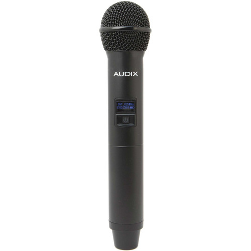 Audix H60 OM3 64 MHz Handheld Microphone Transmitter with OM3 Hypercardioid Dynamic Capsule (522 to 586 MHz)