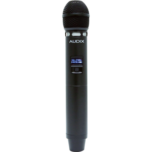 Audix H60 VX5 64 MHz Handheld Microphone Transmitter with VX5 Supercardioid Condenser Capsule (522 to 586 MHz)