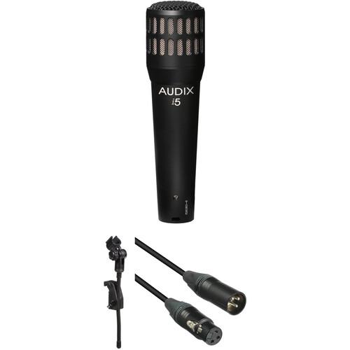 Audix i5 Dynamic Mic and Drum Mount Kit