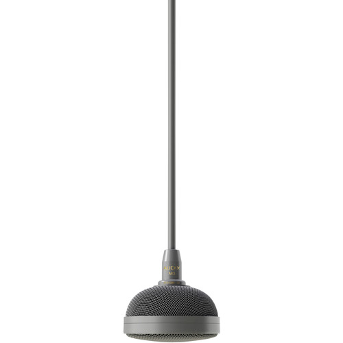 Audix M3 Tri-Element Hanging Ceiling Microphone with 4' Cable (Gray)