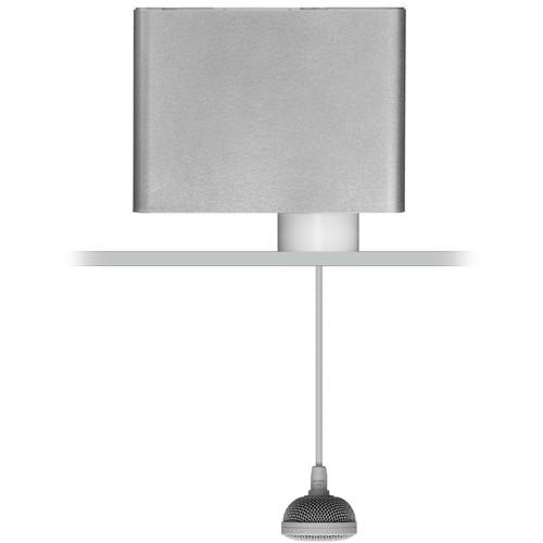 Audix M3GSERVO Tri-Element Hanging Ceiling Microphone for Servoreelers (Gray)