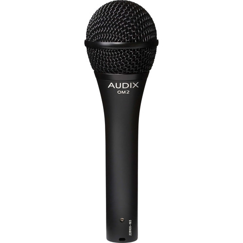 Audix OM2 Handheld Microphone with Boom Stand & Cable Kit