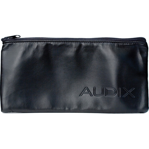 Audix P2 Oversize Leatherette Carrying Pouch for Handheld Wireless Transmitters