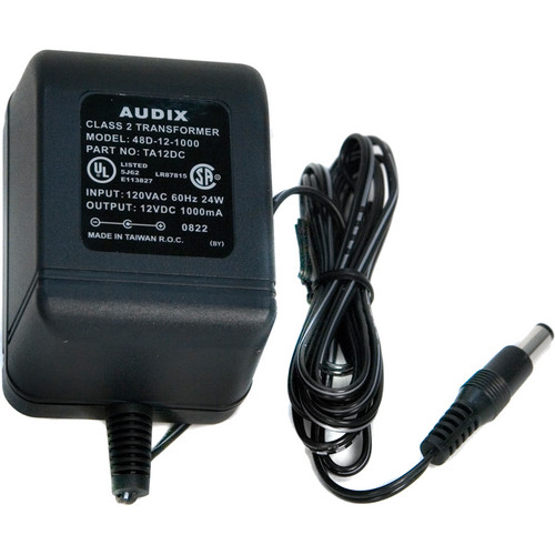 Audix TA12DC Replacement Power Supply for PH3 Speakers