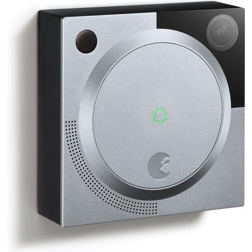 August 1.2MP Wireless Doorbell Cam (Silver)