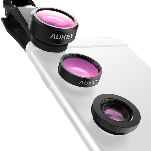 AUKEY Macro Wide 3 In 1 Lens For iPhone/Android